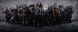 Lord of the Rings Dwarfs and Hobbit photos