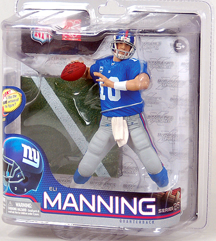 Eli Manning NFL Football 6 Inch Figure Series 26