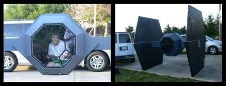 1/3 scale model Star Wars TIE fighter appears for sale on Craigslist
