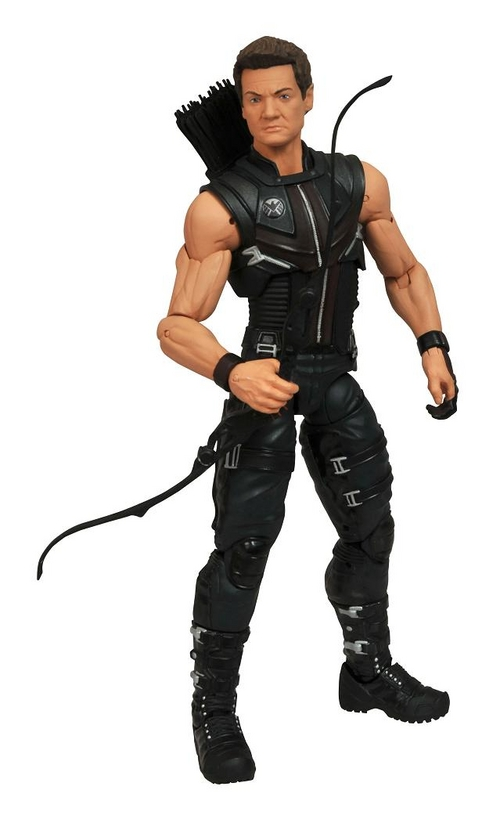 Marvel Select 8 Inch Action Figure - Movie Hawkeye