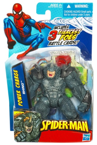 Power Charge Rhino Figure from Spiderman