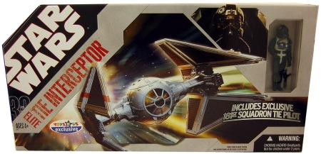Star Wars Exclusive Elite Tie Interceptor