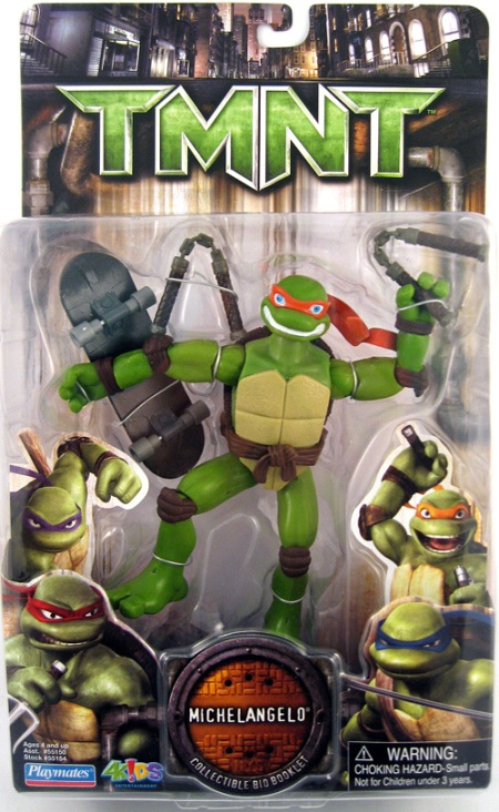 TMNT Movie 6 Inch Action Figure Michelangelo