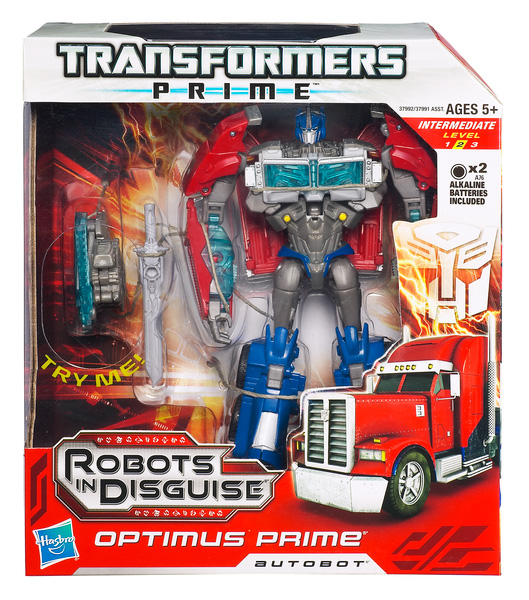 Transformers Prime Robots In Disguise  Figure Voyager Class  - Optimus Prime