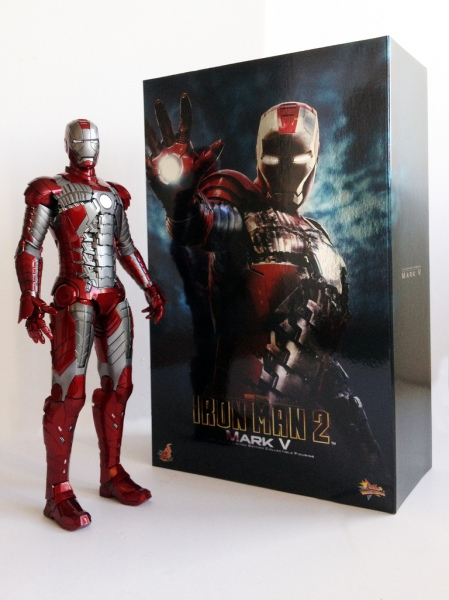 Iron Man Mark V Hot Toys