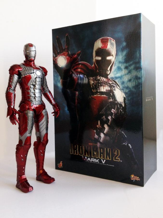 Iron Man Mark V Hot Toys