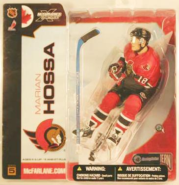 McFarlane NHL Action Figures Marian Hossa