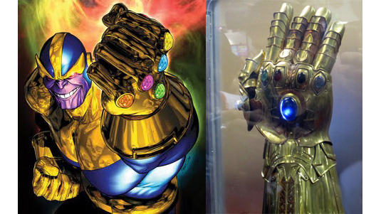 The Avengers Thanos Glove