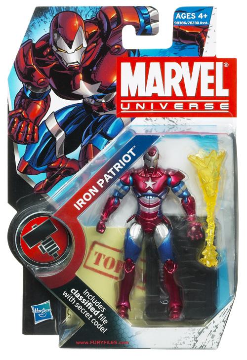 Iron Patriot Iron-Man Figure
