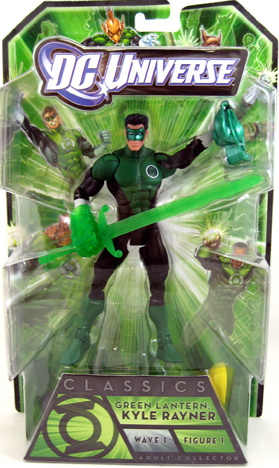 Green Lantern Classic 6 Inch Action Figure Series 1 - Kyle Rayner