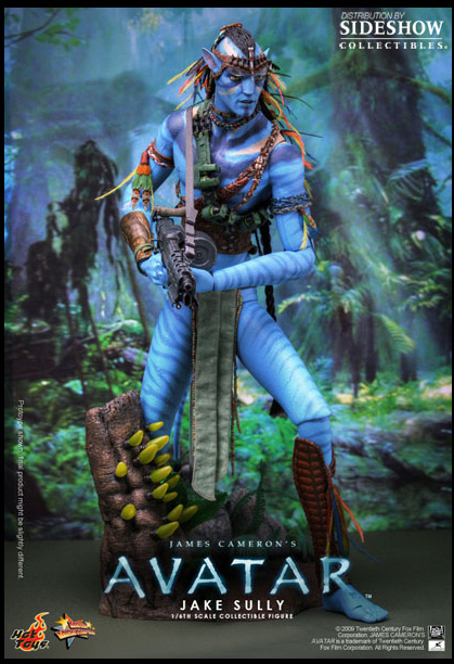 Avatar 18 Inch Doll Figure - Jake Sully Avatar Form Hot Toys