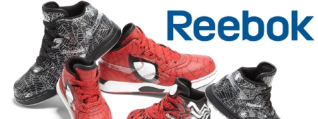 New Reebok Spider Man Themed Sneakers