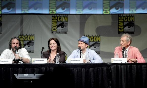 The Hobbit at the Comic Con 2012