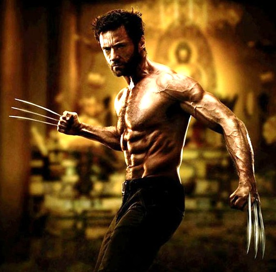 Hugh Jackman as Wolverine 2013