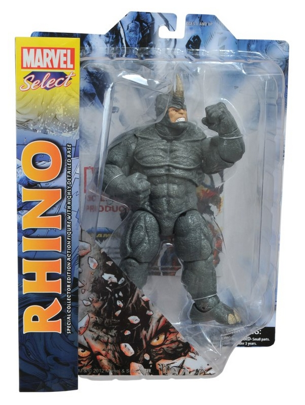 Rhino Marvel Select Figure