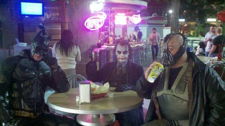 Batman and Gang in Vegas