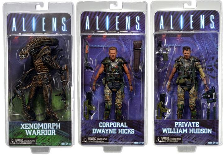 Aliens Movie Action Figures NECA