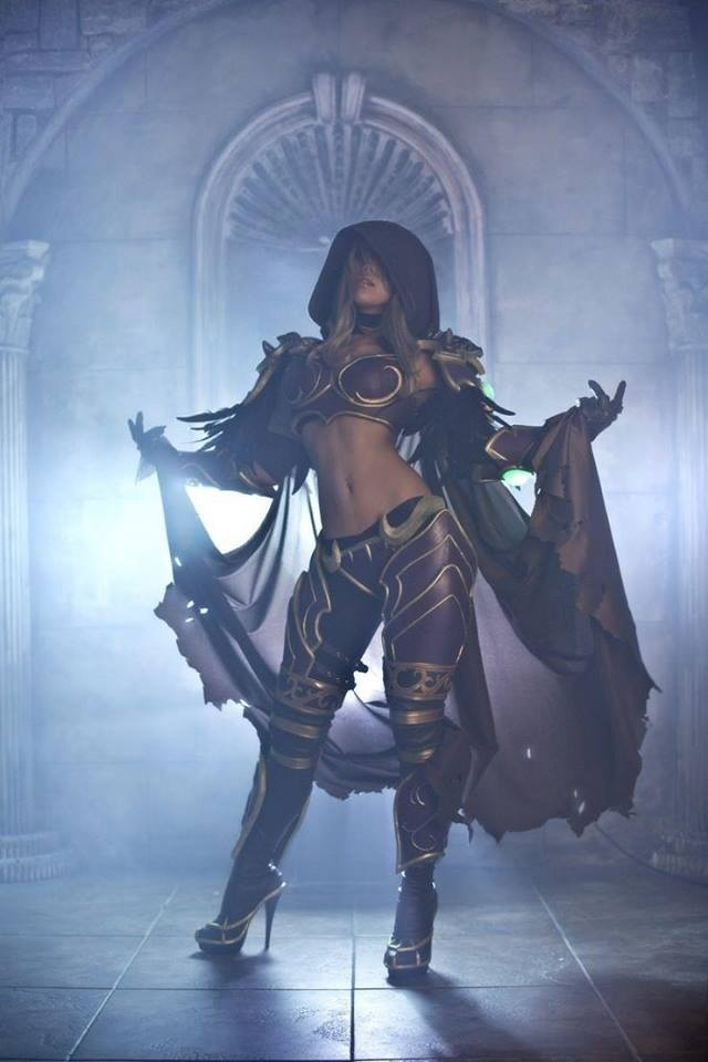 Lady Sylvanas cosplay - World of Warcraft