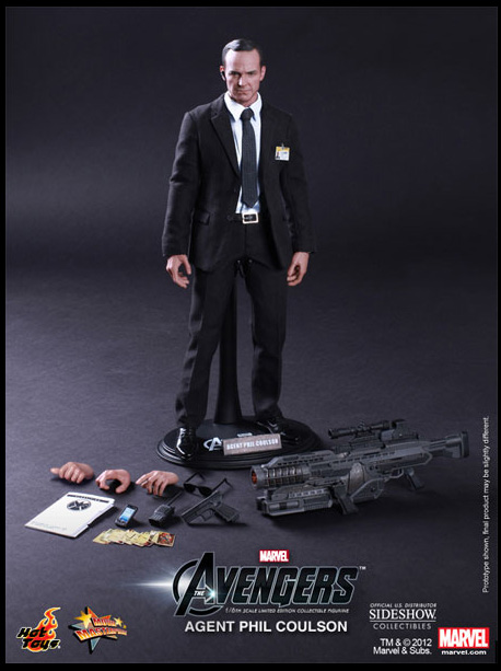 Agent Phil Coulson Hot Toys Figure