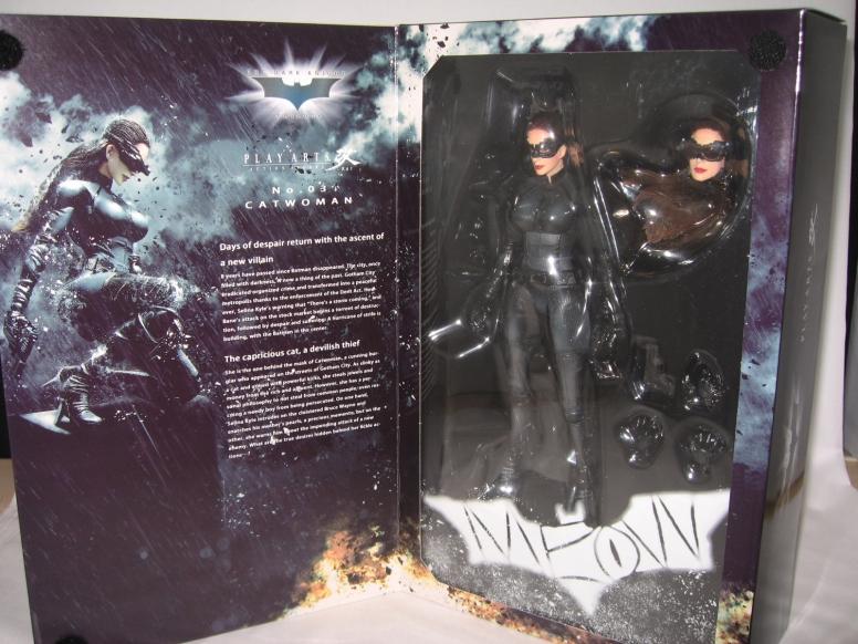 Catwoman Selina Kyle Play Arts Kai Dark Knight Figure  (2)