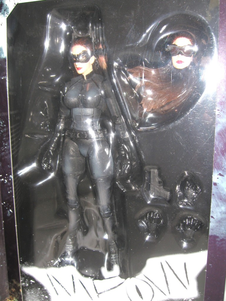 Catwoman Selina Kyle Play Arts Kai Dark Knight Figure  (3)