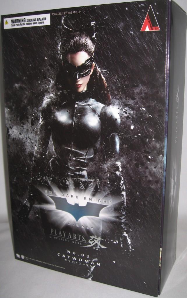 Catwoman Selina Kyle Play Arts Kai Dark Knight Figure  (4)