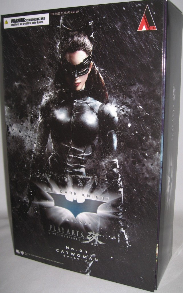 Catwoman Selina Kyle Play Arts Kai Dark Knight Figure  (4)