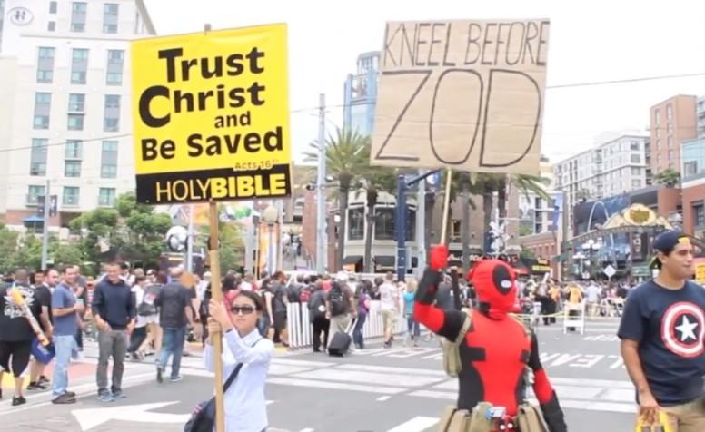 Deadpool at Comic Con 2013