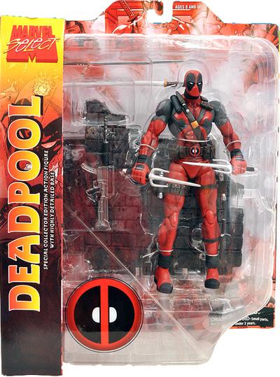 Deadpool Marvel Select Figure