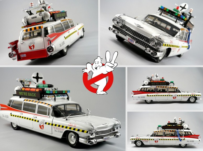 ECTO 1A Die Cast Hot Wheels