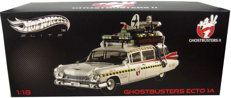 Ghostbusters II 1 18 Scale Die Cast Vehicle Ecto 1A