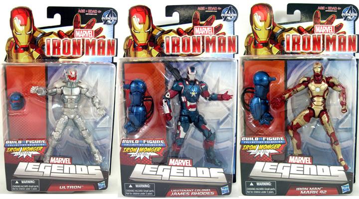 Iron Man 3 Marvel Legends Figure MK42 - Ultron - Iron Patriot