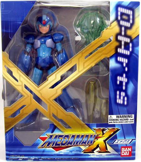 Mega Man X Figure D-arts (2)