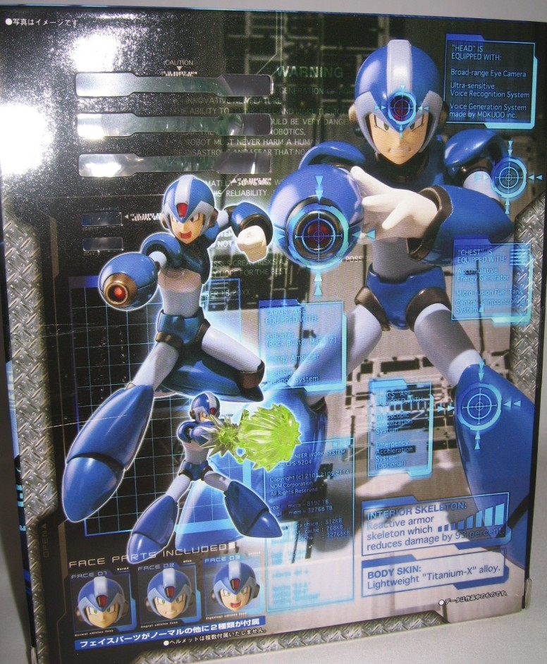Mega Man X Figure D-arts