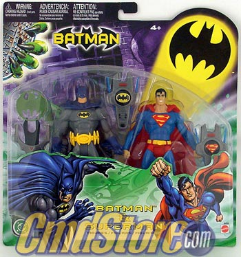 Superman Batman Action Figures