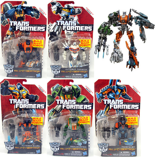 Transformers Generations 2013 Wave 2 Ruination Figure Set