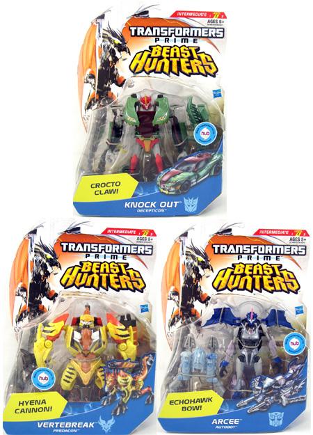 Transformers Prime Beast Hunters Figures