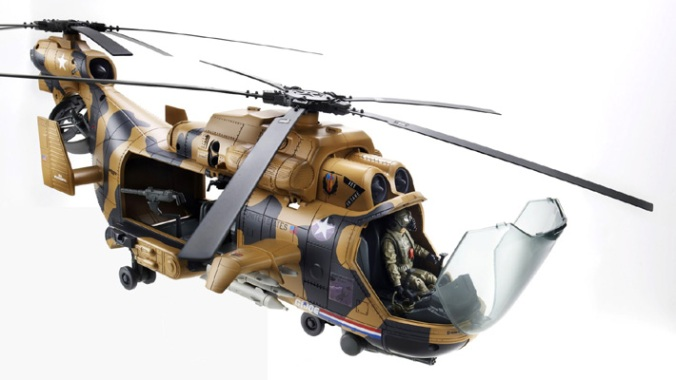 Eaglehawk  GI-Joe Helicopter