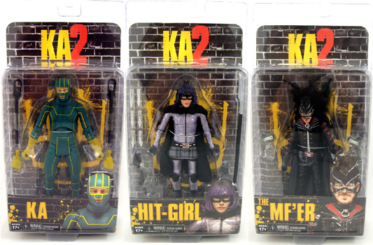 Kick Ass 2 Action Figures