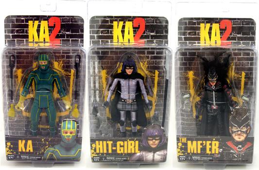 Kick Ass 2 Action Figures