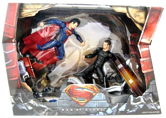 Superman vs General Zod