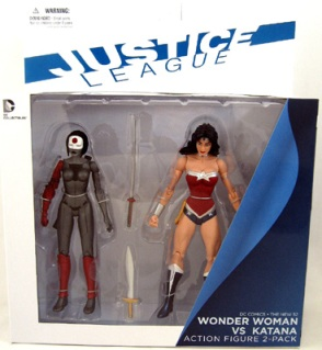 Wonder Woman vs Katana