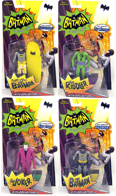 Batman Classic TV 1966 Action Figure Series 1