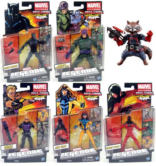 Build-A-Figure Rocket Raccoon Marvel Legends