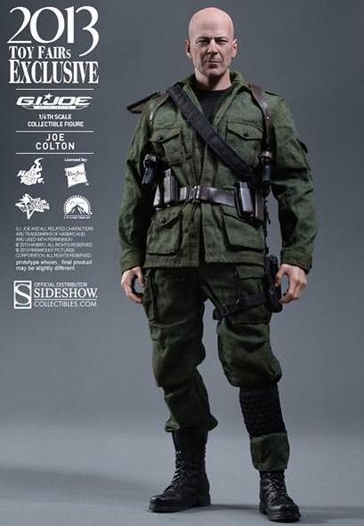 Joe Colton GI-Joe Sideshow Figure