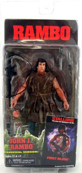 John J. Rambo (Survival Version) Figure