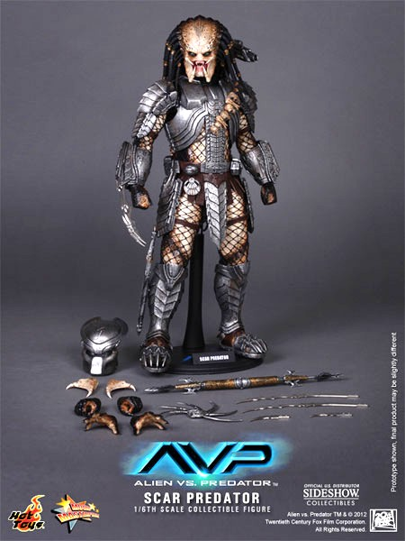 Scar Predator Hot Toys Figure