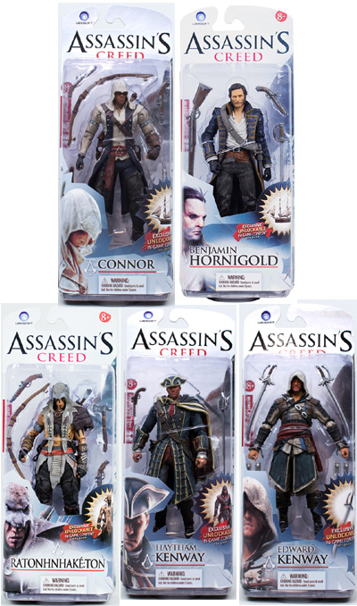 Assassin's Creed III  Figure Series 1