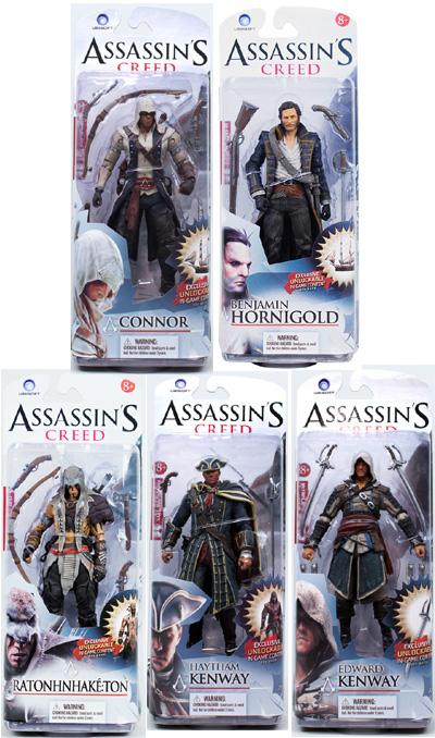 Assassin's Creed III  Figure Series 1