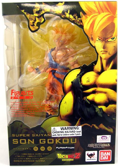 Battle Damaged Super Saiyan Son Goku Figure